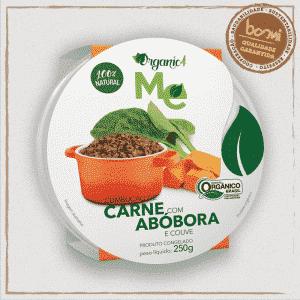 Carne com Abóbora e Couve Organic4