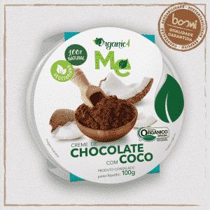 Chocolate com Coco Orgânico Organic4