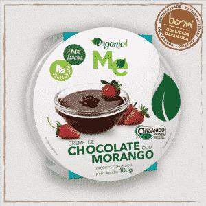 Chocolate com Morango Orgânico Organic4