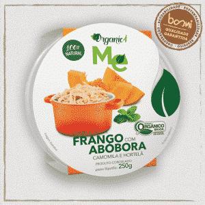 Frango com Abóbora Orgânico Organic4