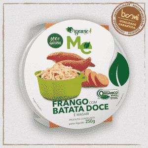 Frango com Batata Doce e Wasabi Organic4