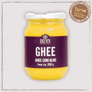 Manteiga Ghee com Alho
