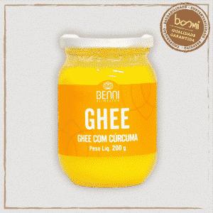 Manteiga Ghee com Cúrcuma