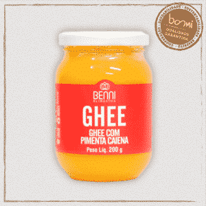 Manteiga Ghee com Pimenta Caiena