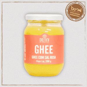 Manteiga Ghee com Sal Rosa