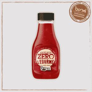 Ketchup Orgânico Zero Açúcar