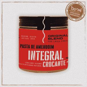 Pasta Amendoim Integral Crocante