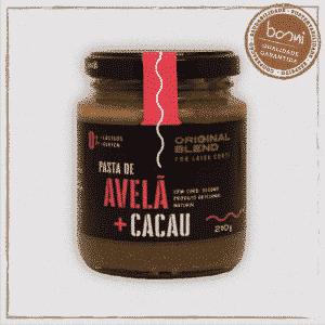 Pasta de Avelã e Cacau Vegano