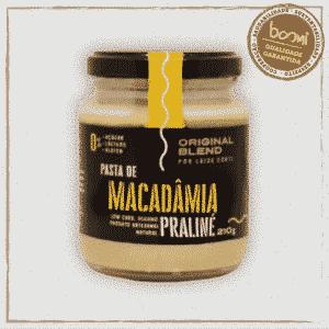 Pasta de Macadâmia Praliné Vegano
