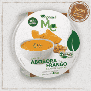 Sopa de Abóbora e Frango Organic4