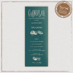 Chocolate 70% Cacau CHoKolaH