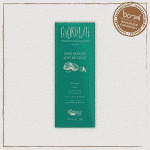 Chocolate Leite de Coco CHoKolaH