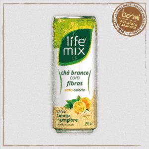 Chá Branco Laranja Life Mix
