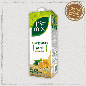 Chá Branco Laranja Life Mix 1L