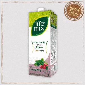 Chá Verde Cranberry Life Mix 1L