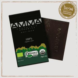 Chocolate 100% Cacau Orgânico