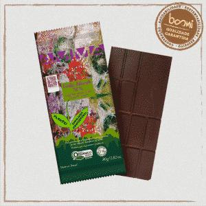 Chocolate 70% Cacau Orgânico Coco