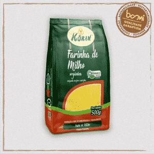 Farinha Milho Orgânica Korin