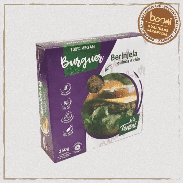 Hambúrguer Vegetal Berinjela Quinoa
