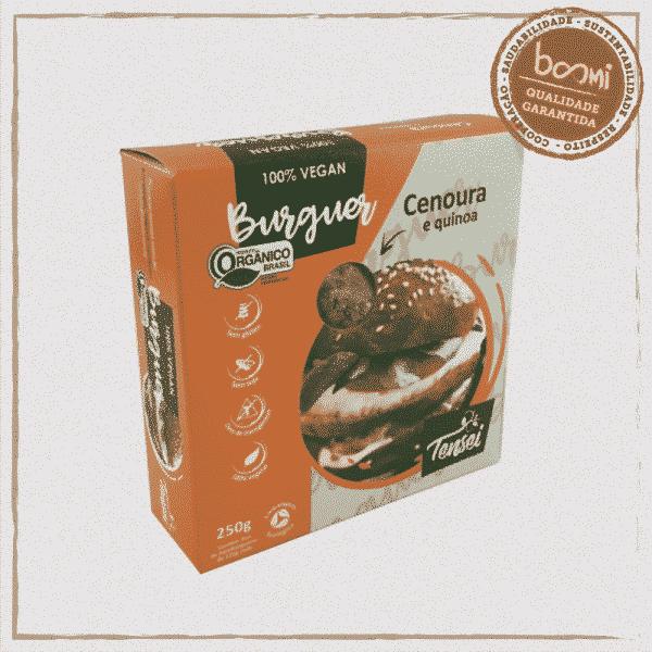 Hambúrguer Vegetal Cenoura Quinoa