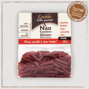 Macarrão Penne Cenoura Chia