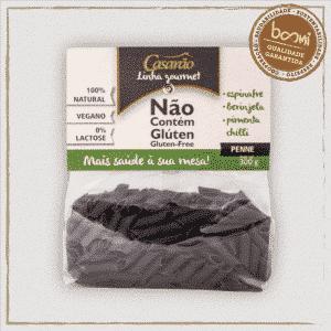 Macarrão Penne Espinafre Berinjela