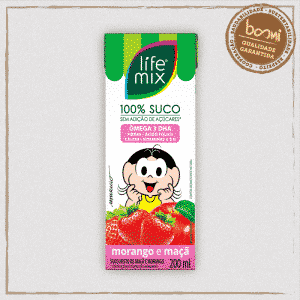 Suco Kids Morango Life Mix