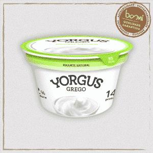 Iogurte Grego Natural Yorgus