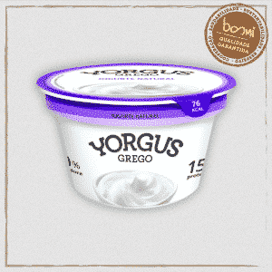 Iogurte Grego Natural Zero Gordura Yorgus