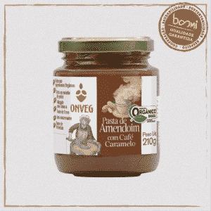 Pasta Amendoim Café Onveg