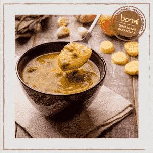 Sopa Mandioquinha Cubinhos Carne