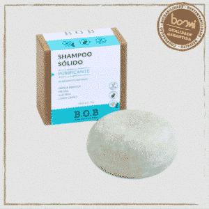 Shampoo em Barra Sólido Purificante B.O.B 80g