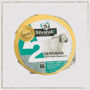 Queijo Serrinha Curado 100% Beta Caseína A2 Silvania