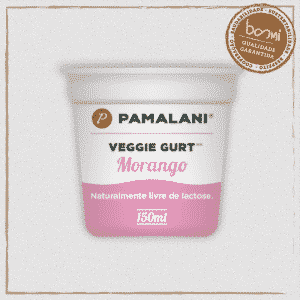 Iogurte Vegano Morango Família Pamalani 150ml