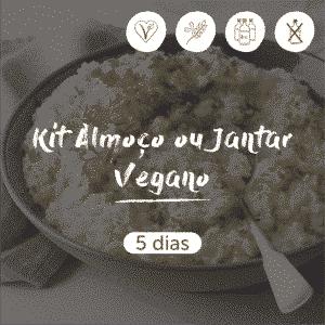 Kit Almoço ou Jantar Vegano | 5 dias