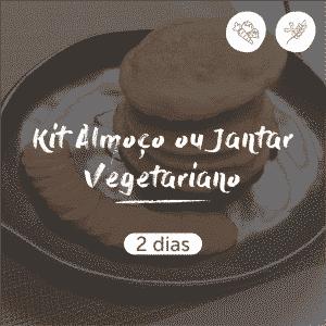 Kit Almoço ou Jantar Vegetariano | 2 dias