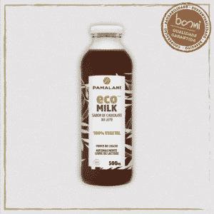 Leite Vegetal Sabor Chocolate Eco Milk Família Pamalani 500ml