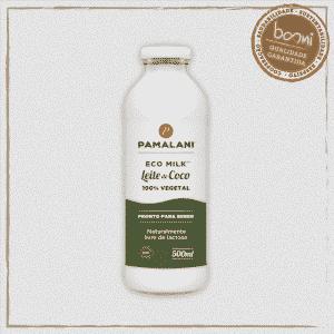 Leite Vegetal de Coco Eco Milk Leite Família Pamalani 500ml