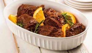 Ingredientes da Receita de Carne com Molho de Laranja