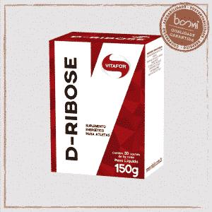 D-Ribose Energético 5g Vitafor 30 Sachês