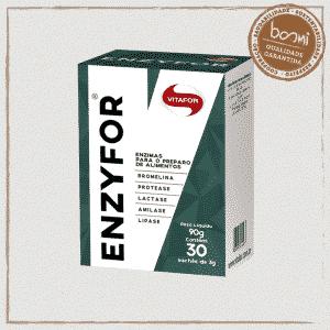 Enzyfor Mix de 5 Enzimas Digestivas 3g Vitafor 30 Sachês