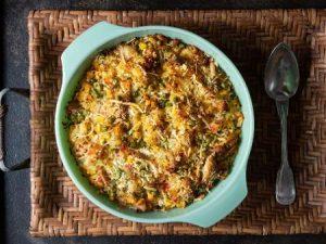 Ingredientes da Receita de Arroz Integral de Forno com Legumes
