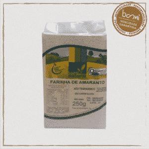 Farinha de amaranto orgânico Coopernatural 250g