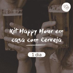 Kit Happy Hour em Casa com Cerveja | 1 dia