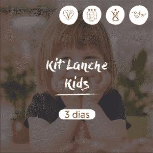 Kit Lanche Kids | 3 dias