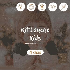 Kit Lanche Kids | 4 dias