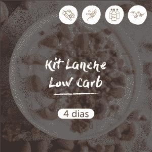 Kit Lanche Low Carb | 4 dias