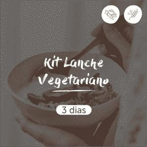 Kit Lanche Vegetariano | 3 dias