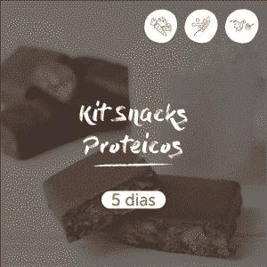 Kit Snacks Proteicos | 5 dias