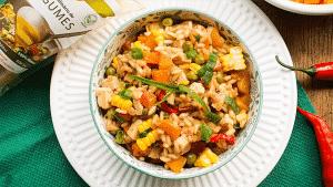 Receita de Risoto Vegetariano de Legumes
